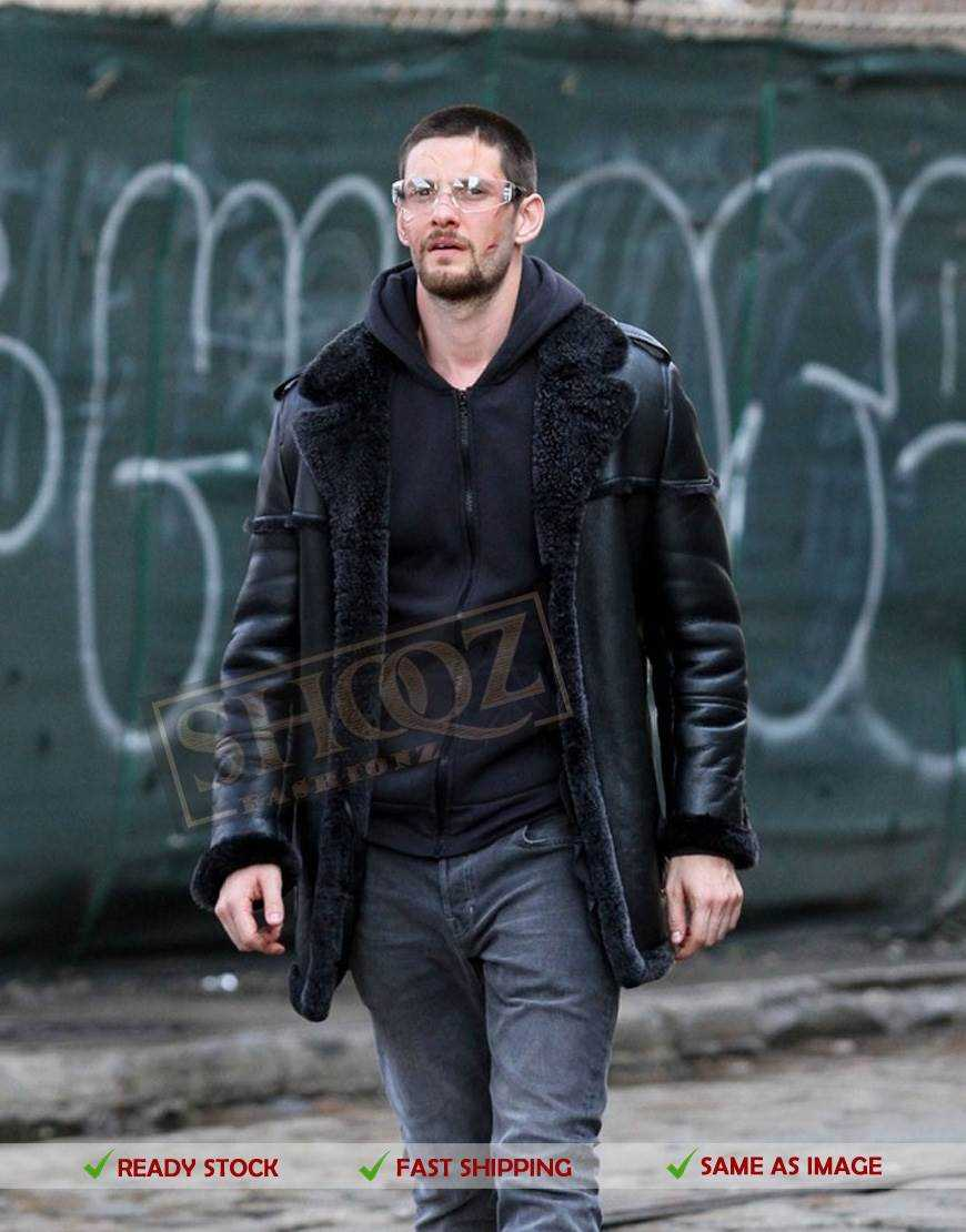 The Punisher Season 2 Ben Barnes Black Jacket