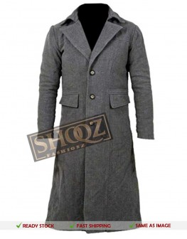 Bloodborne The Hunter Grey Cosplay Costume Coat