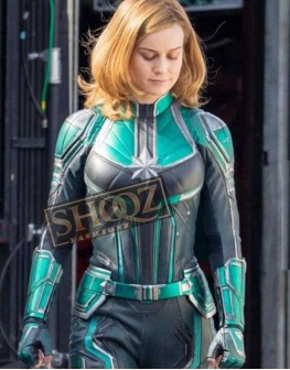 Captain Marvel Brie Larson Costume Jacket