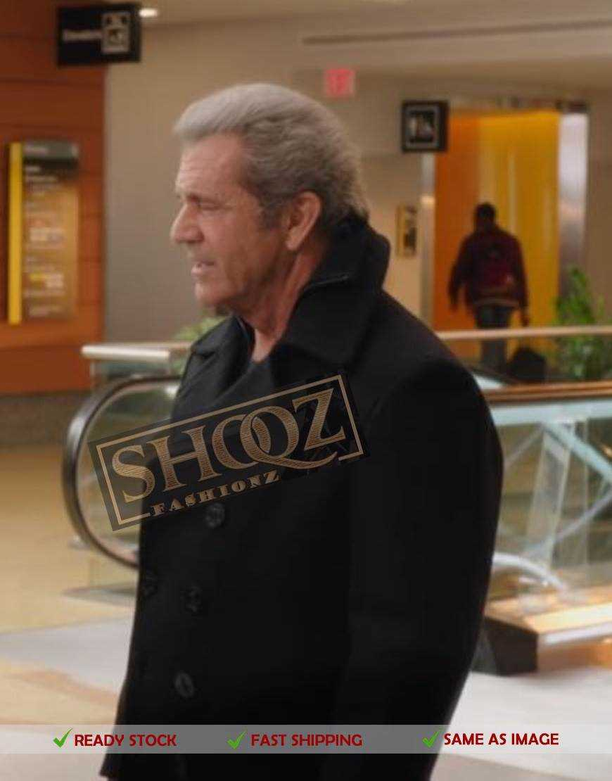Daddy's Home 2 Mel Gibson (Kurt Mayron) Wool Jacket