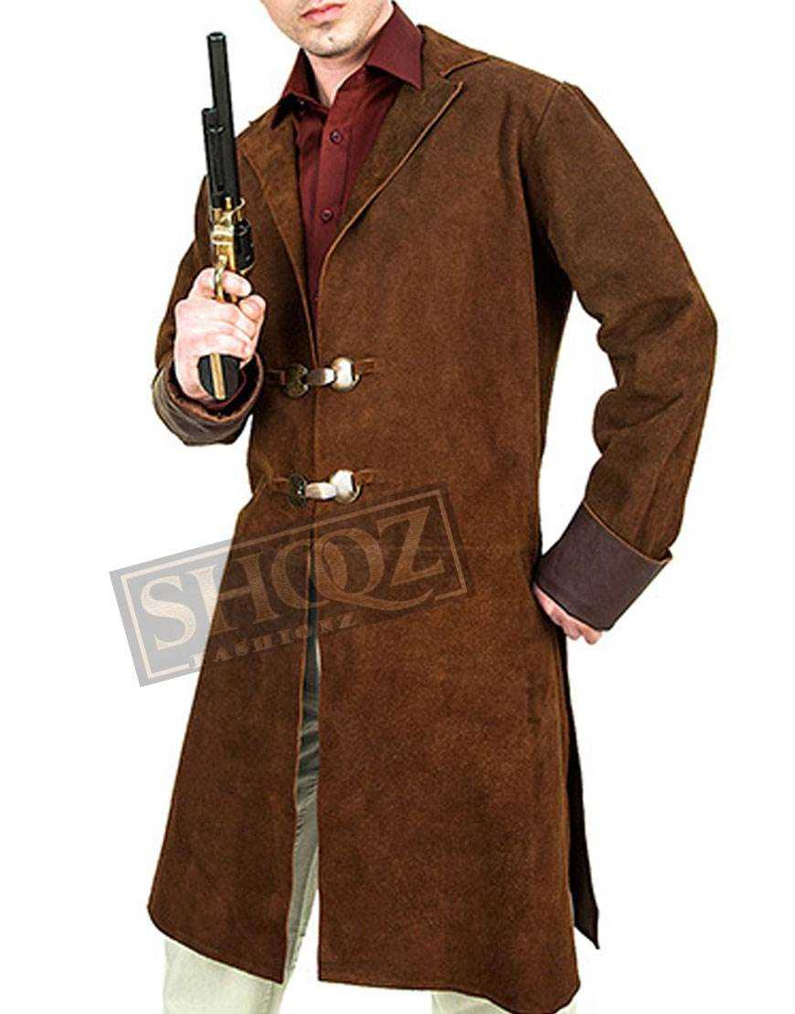 Firefly Malcolm Reynolds Leather Trench Coat
