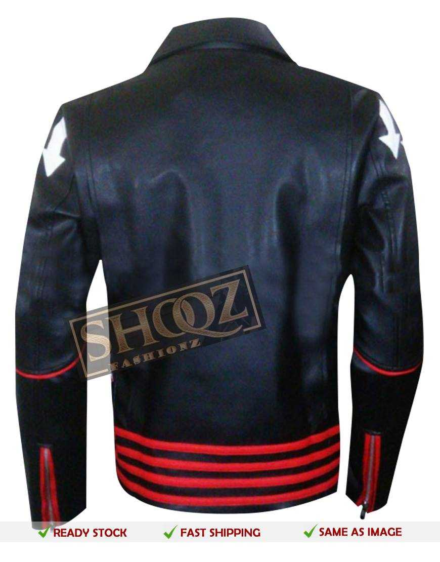Freddie Mercury Arrow Black Red Jacket