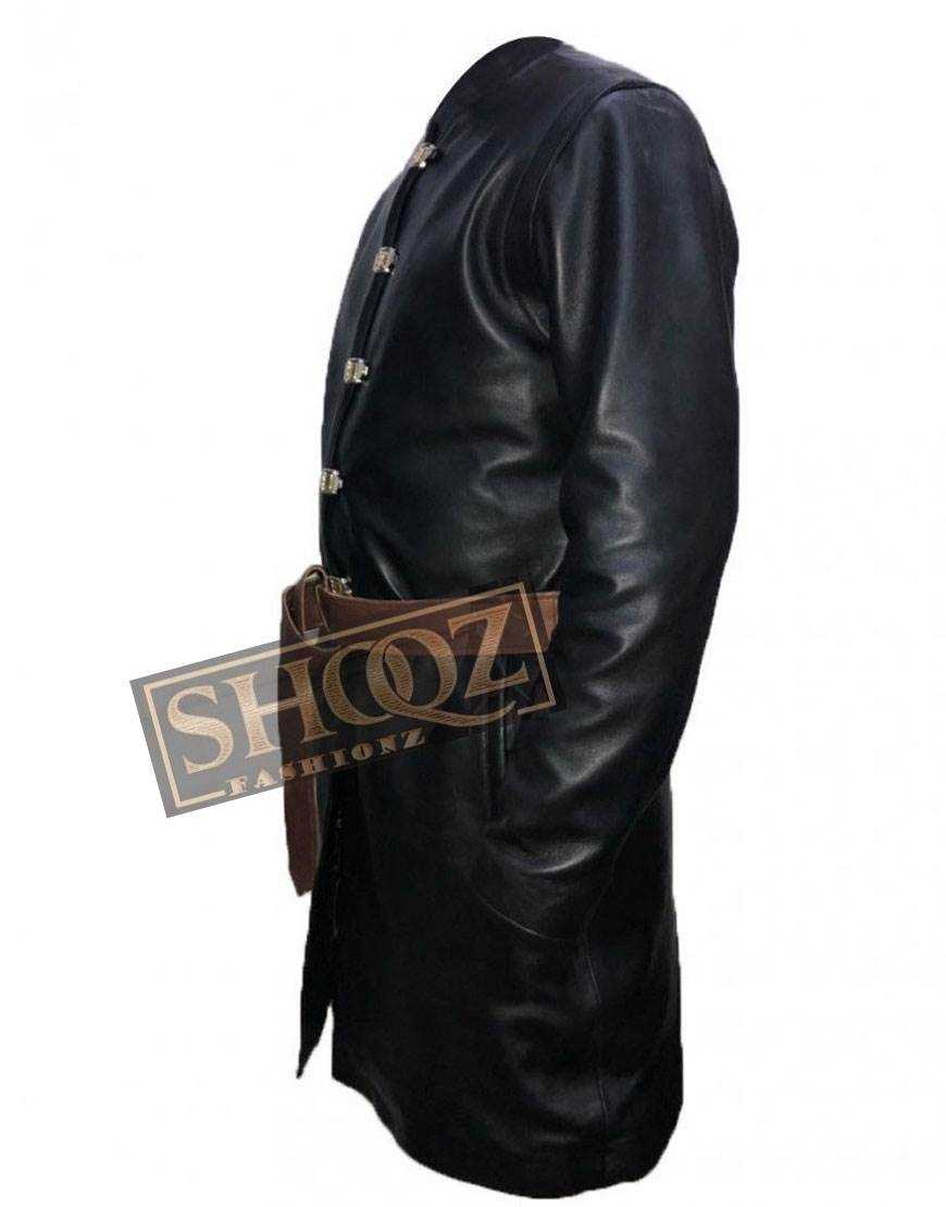 Game of Thrones Season 8 Jaime Lannister Leather Coat