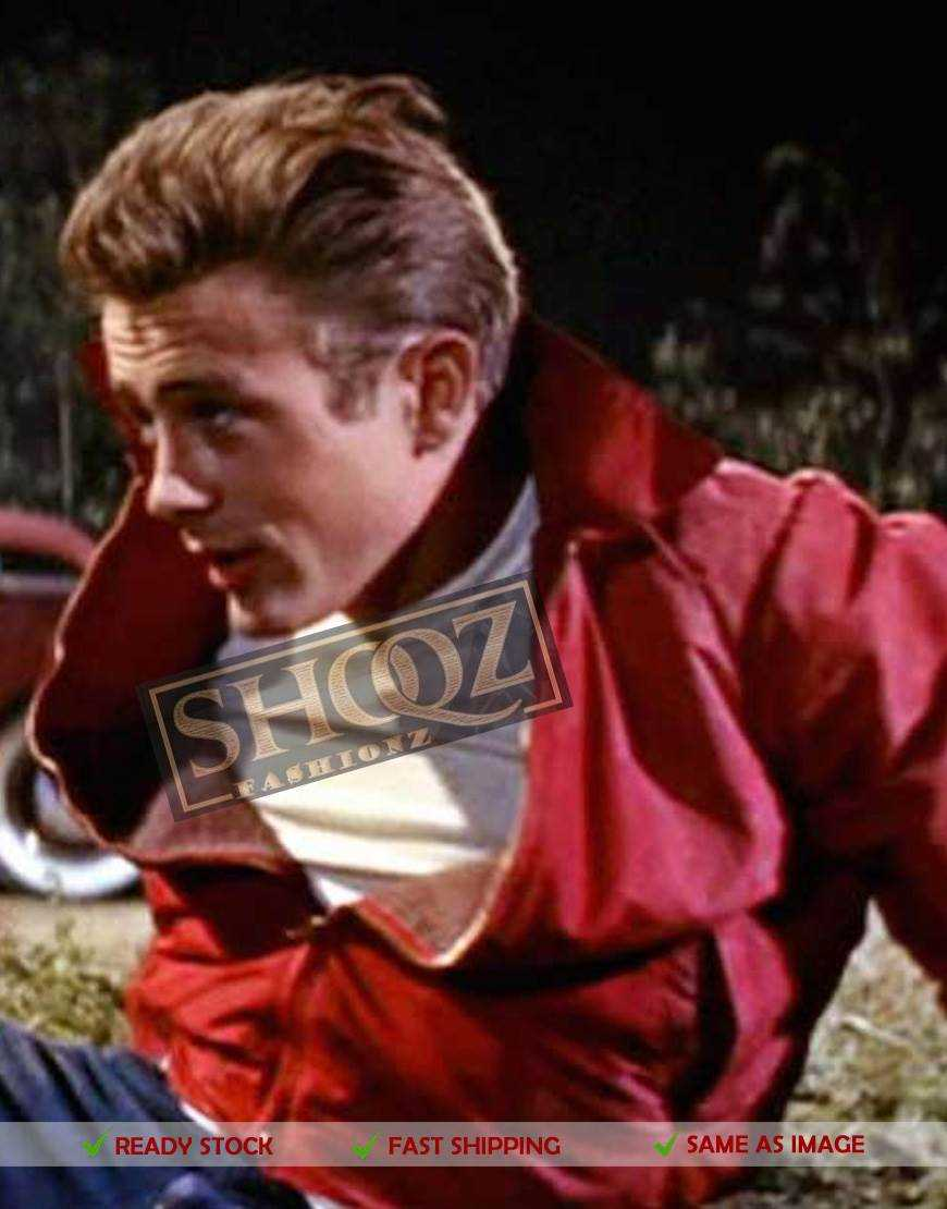 Jim Stark Rebel Without a Cause James Dean Cotton Jacket