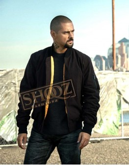 Power J.R. Ramirez Black Cotton Jacket