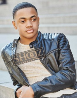 Power Michael Rainey Jr. Leather Jacket
