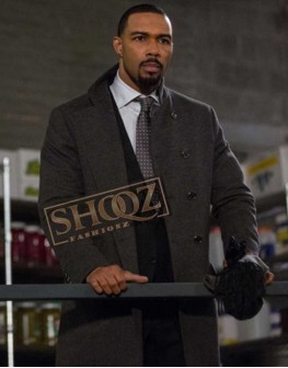 Power Omari Hardwick Wool Coat