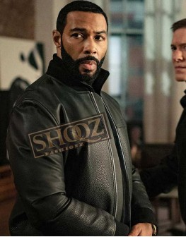Power Omari Hardwick Black Leather Jacket
