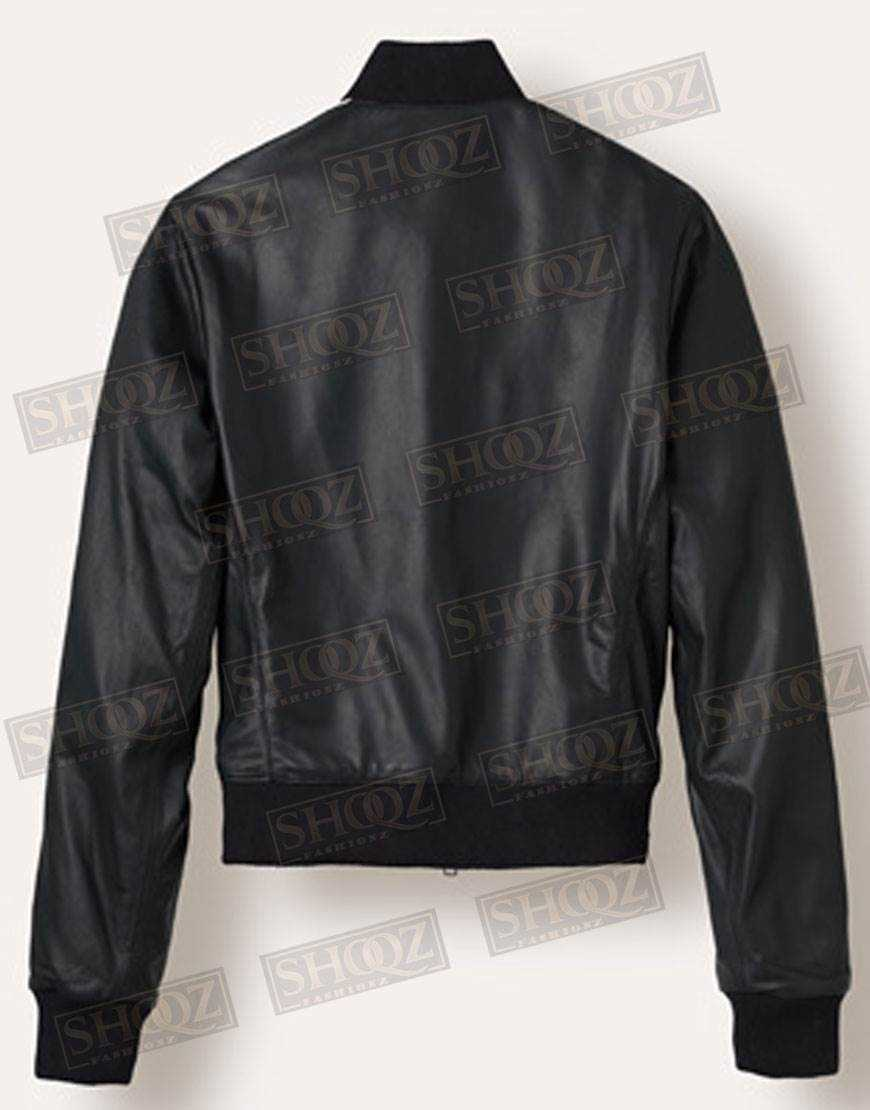 Singer Pharrell Williams Leather Jacket