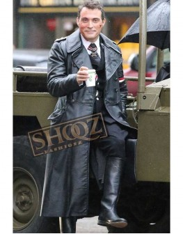 The Man In The High Castle Rufus Sewell Leather Coat