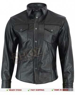 Slim Fit Fashion Collar Shirt