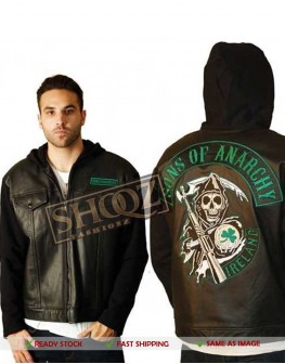 Sons of Anarchy Ireland Highway Hoodie Jacket