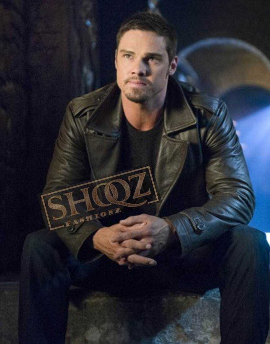 Beauty And The Beast Jay Ryan Leather Jacket