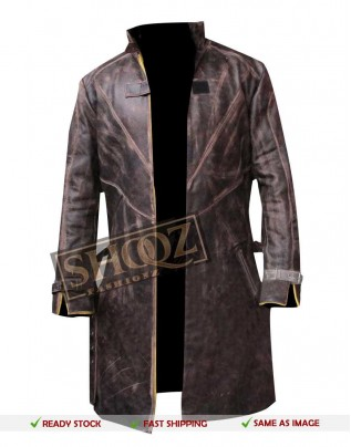Watch Dogs Aiden Pearce Distressed Brown Coat