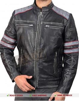 Men Vintage Distressed Jacket