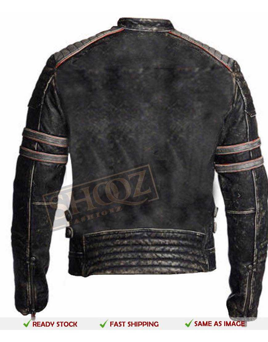 Men Vintage Distressed Jacket