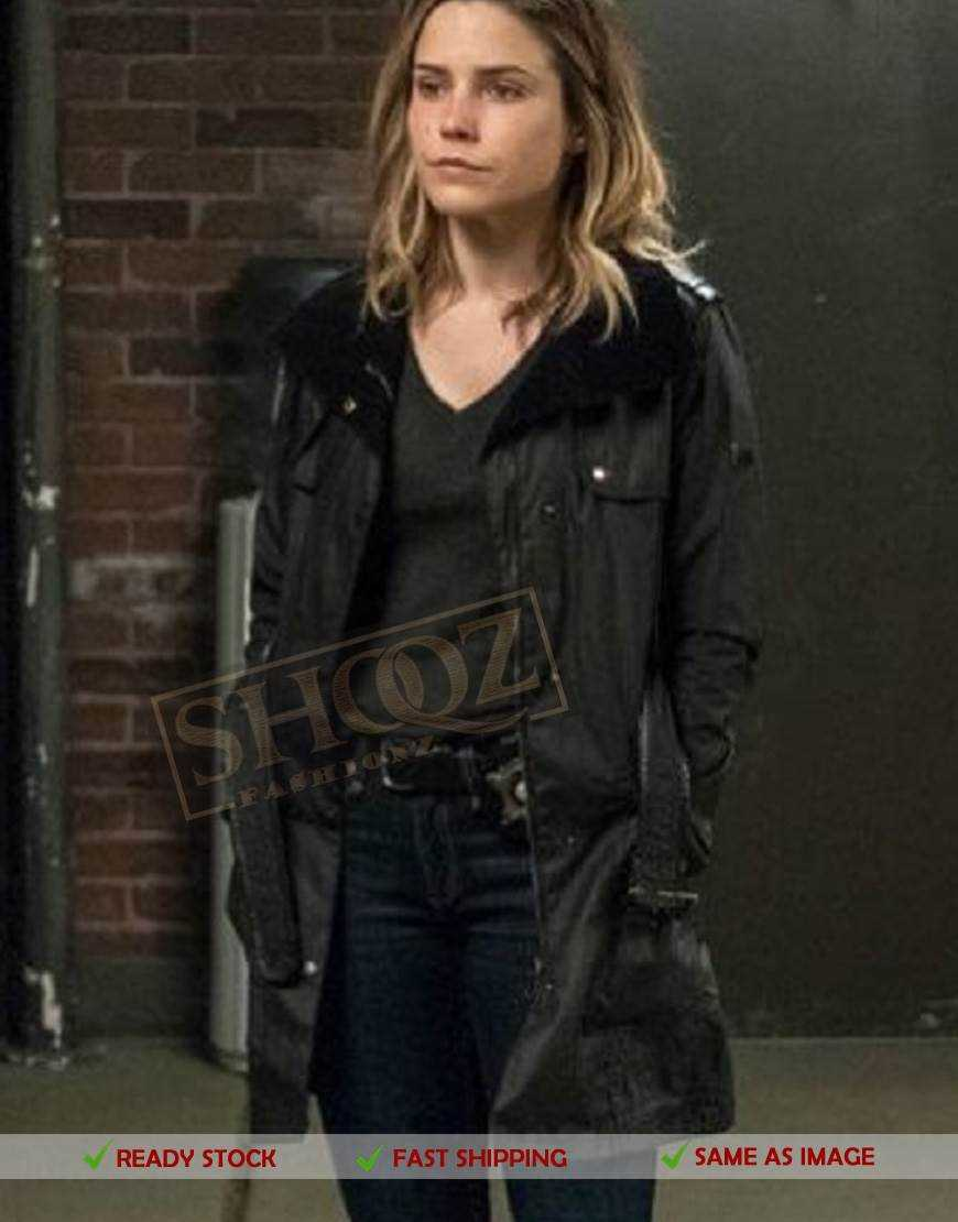Sophia Bush Chicago PD Erin Lindsay Coat