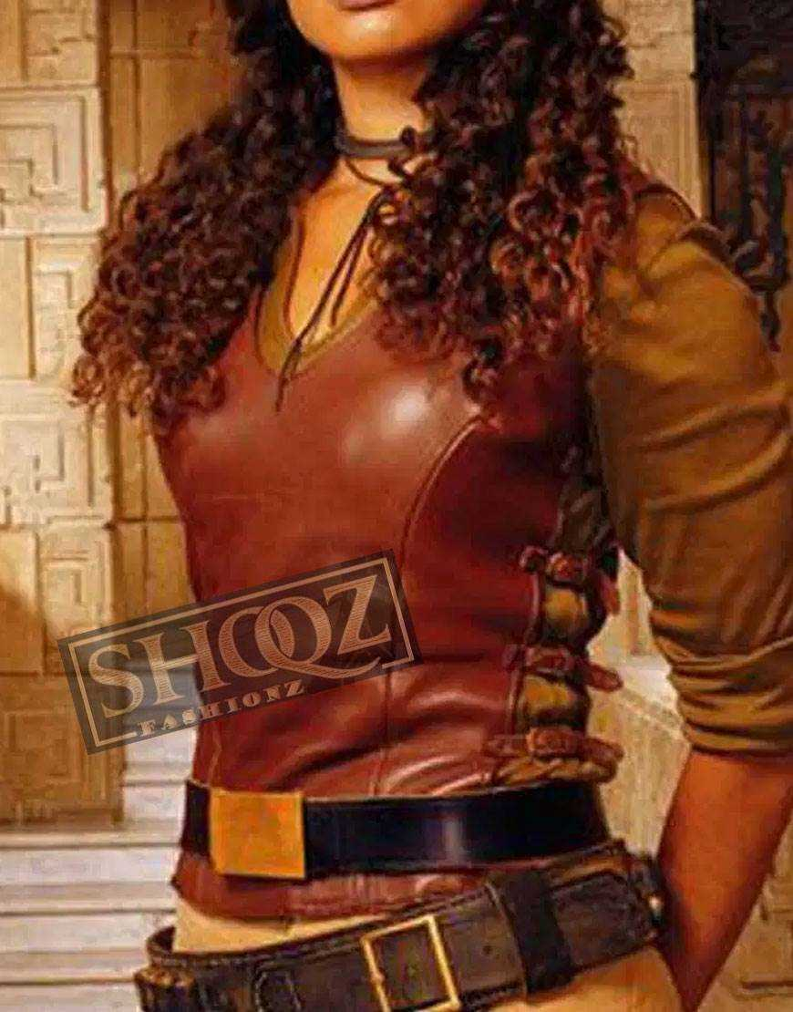 Firefly Gina (Zoe Washburne) Leather Vest