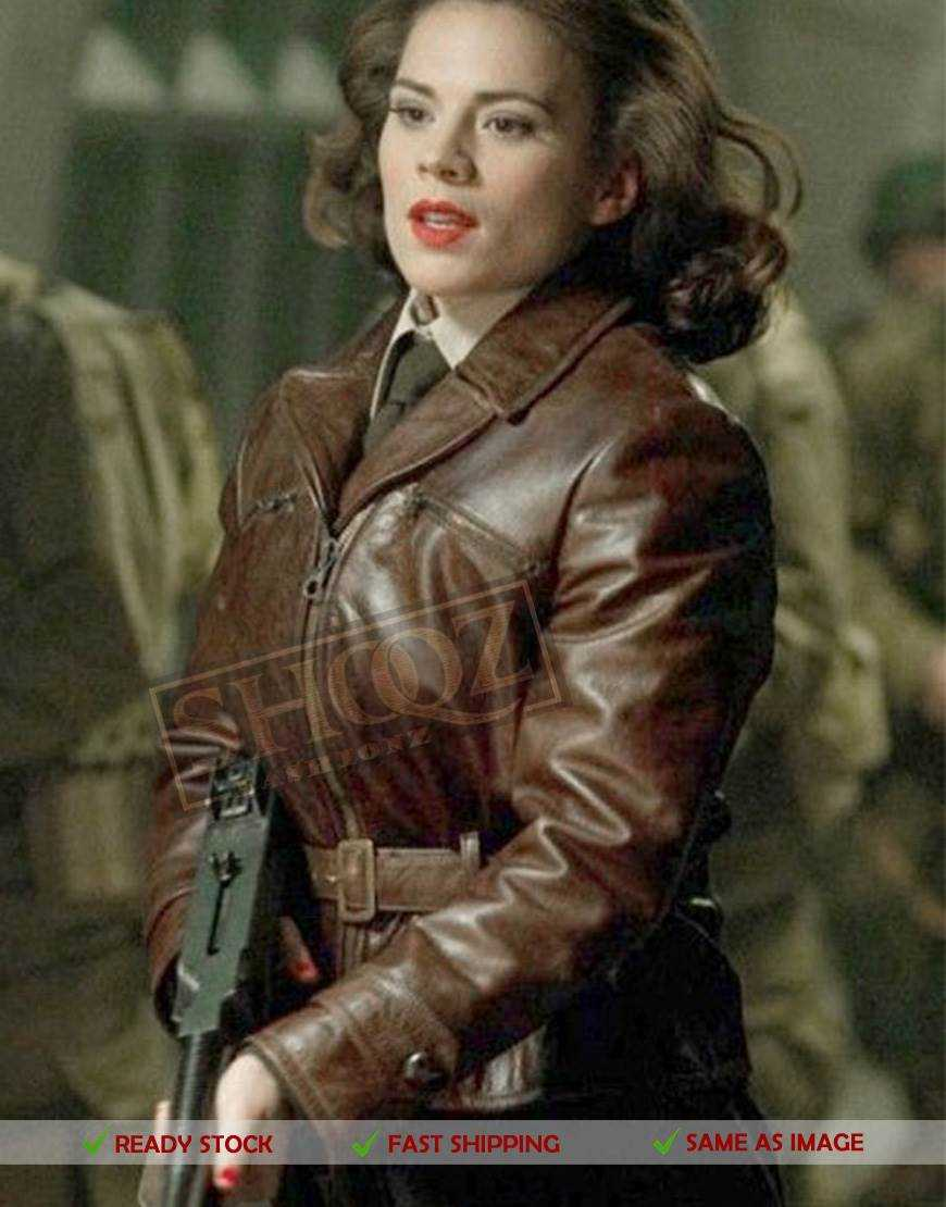 Captain America Agent Carter Jacket