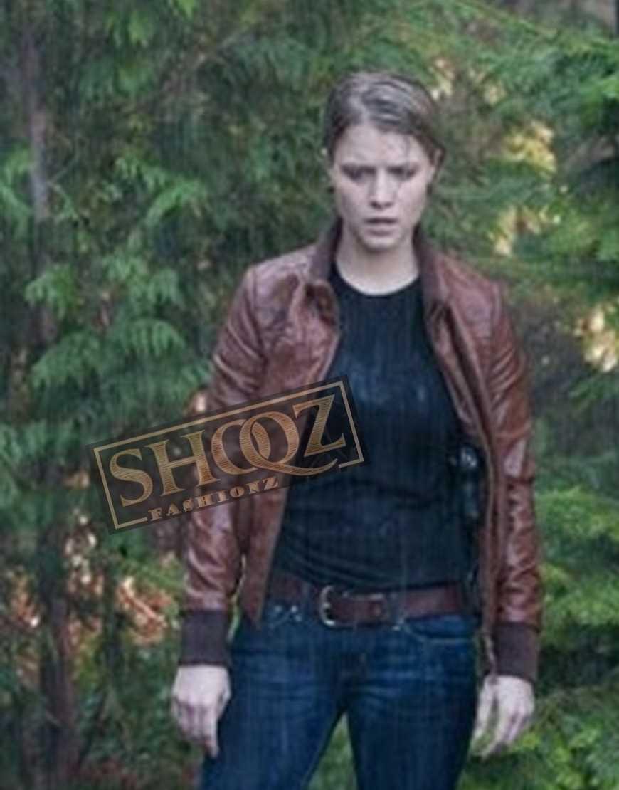 Alcatraz Sarah Jones Detective Rebecca Jacket