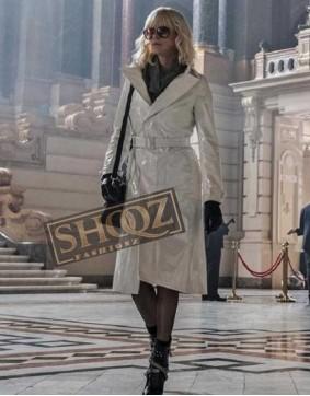 Atomic Blonde Charlize Theron Leather Coat