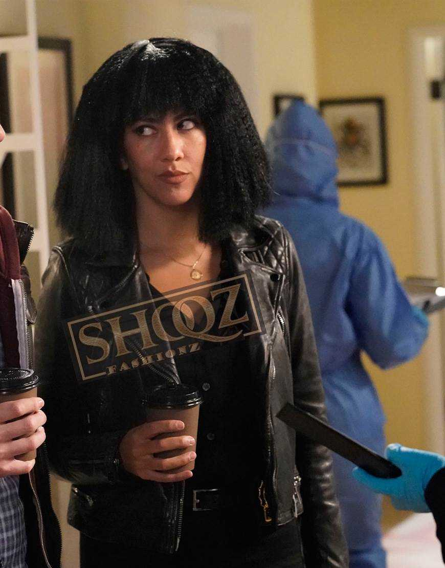 Brooklyn Nine-Nine Stephanie Beatriz Biker LEather Jacket