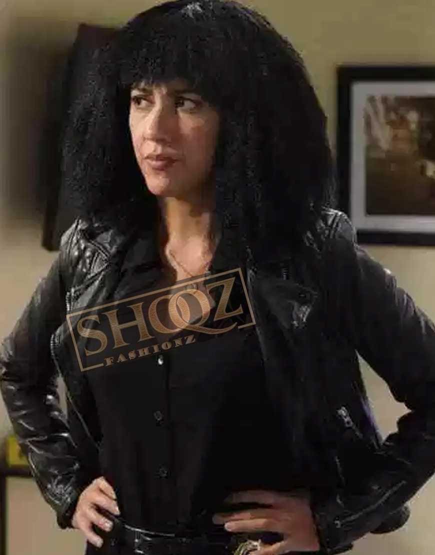 Brooklyn Nine-Nine Stephanie Beatriz Biker LEather Jacket
