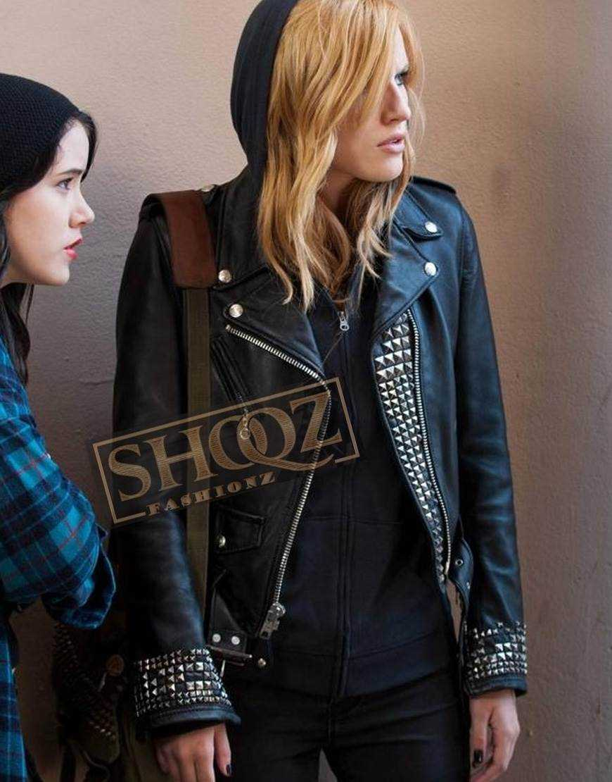 Amityville The Awakening Bella Thorne Leather Jacket