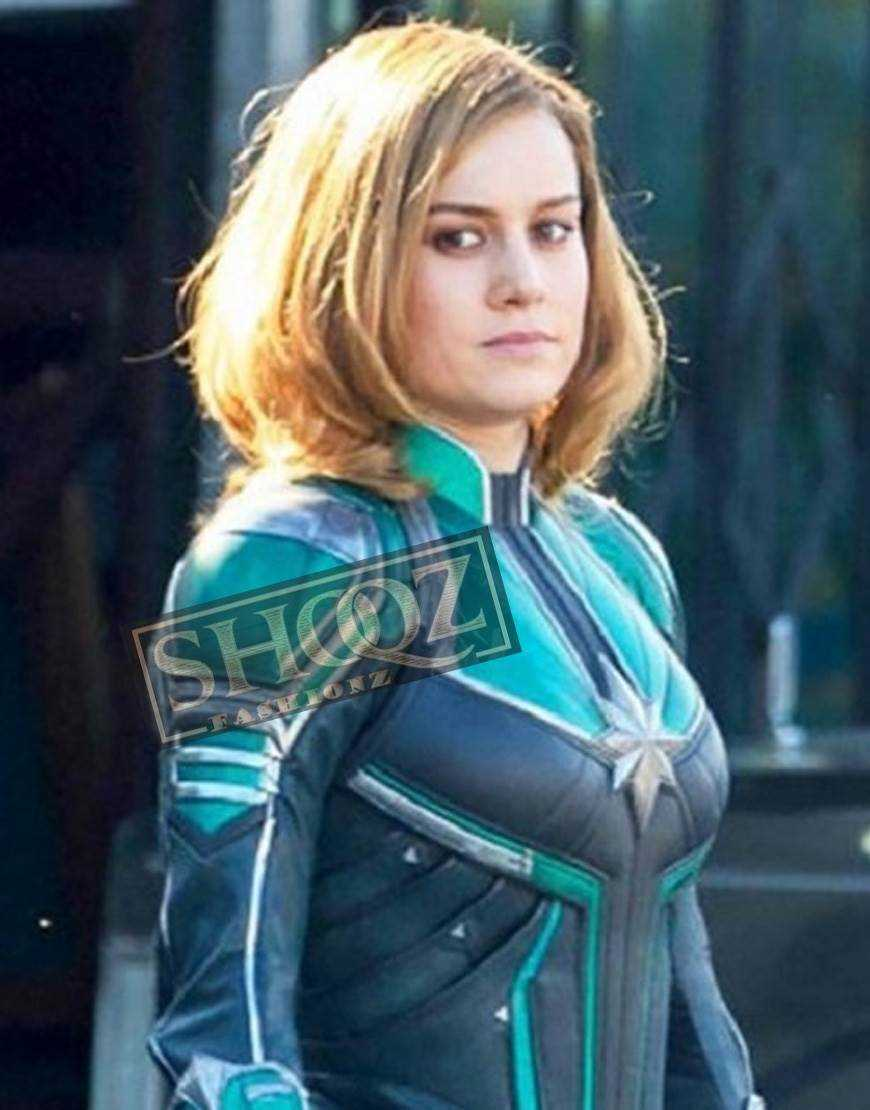 Captain Marvel Brie Larson Costume Jacket