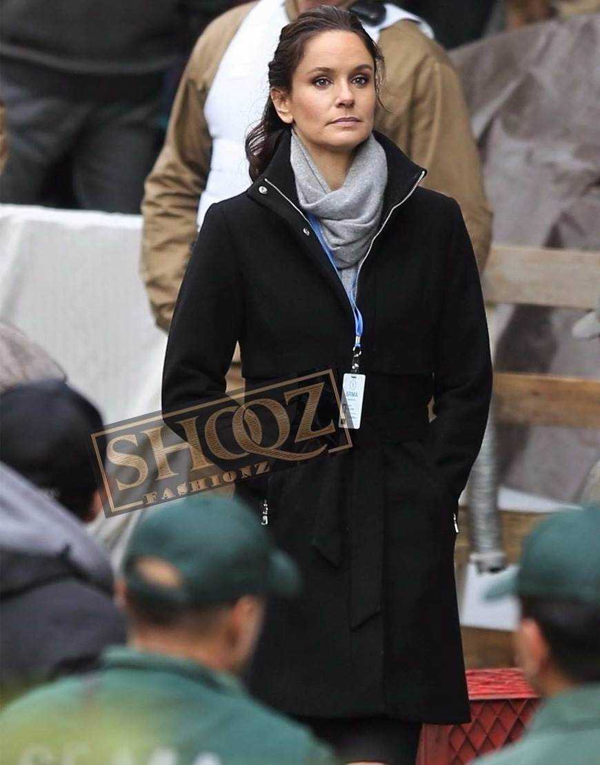 Colony Sarah Wayne Callies Wool Coat