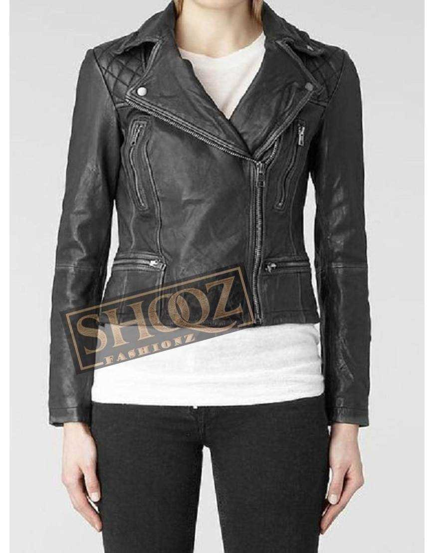 Chloe Bennet Agents Of Shield Black Leather Jacket