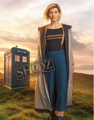 Doctor Who Jodie Whittaker Trench Coat