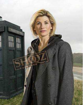 Doctor Who Tv Series Jodie Whittaker Grey Coat