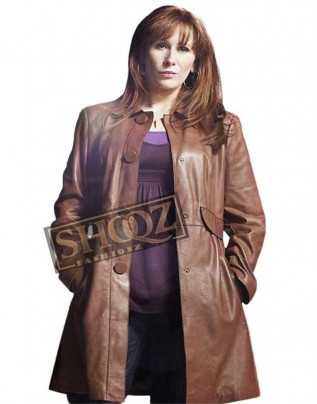 Doctor Who Catherine Tate Leather Coat
