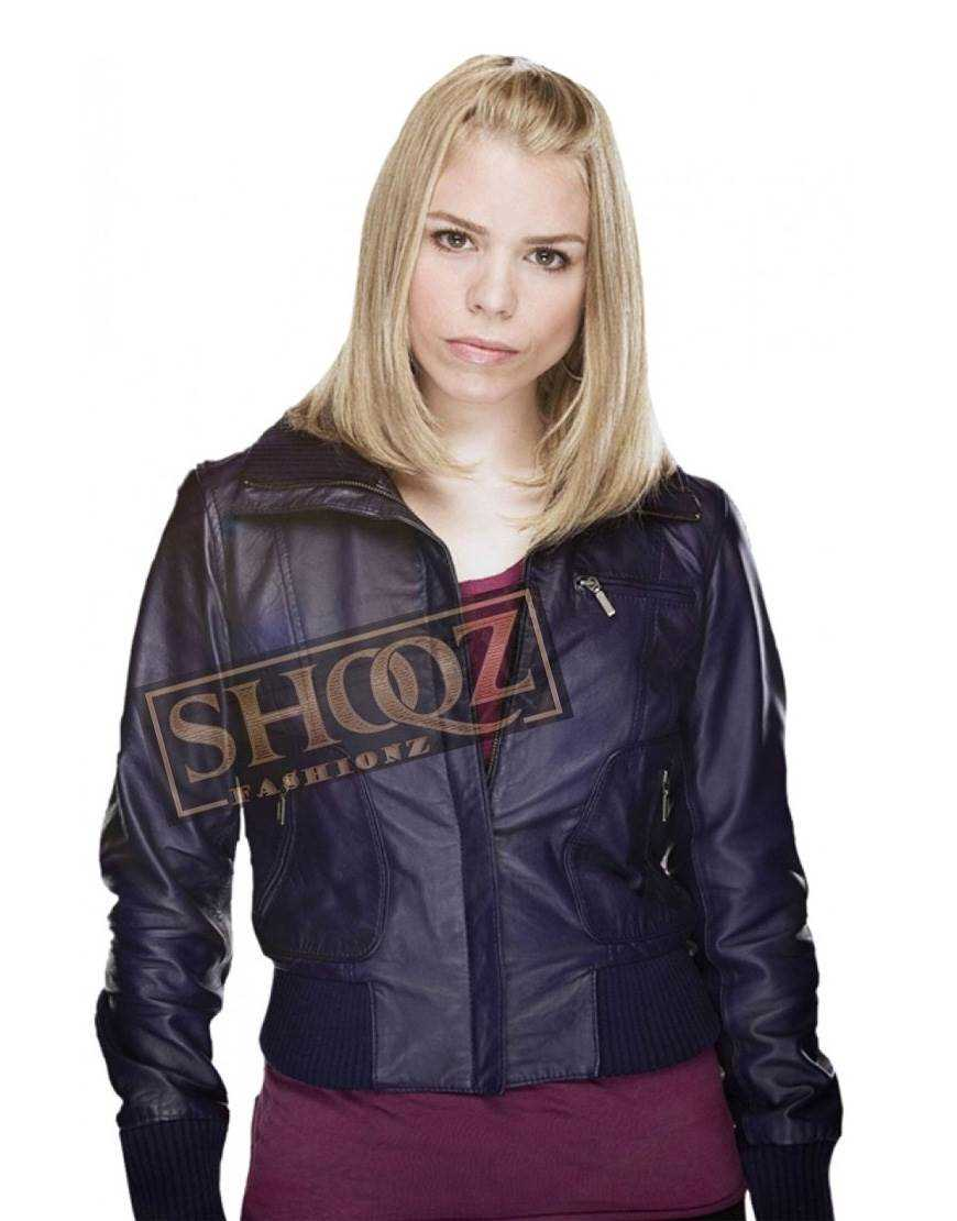 Doctor Who Billie Piper Leather Jacket