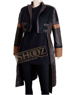 Guardians of Galaxy Zoe Saldana Jacket