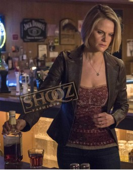 Justified Joelle Carter Leather Jacket