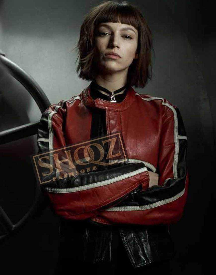 Money Heist Ursula Corbero (Tokio) Leather Jacket
