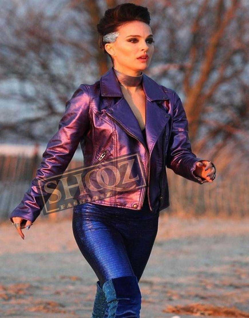 Natalie Portman Vox Lux Leather Jacket