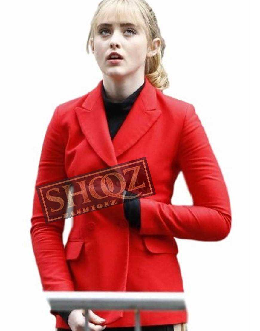 Pokemon Detective Pikachu (Kathryn Newton) Red Coat