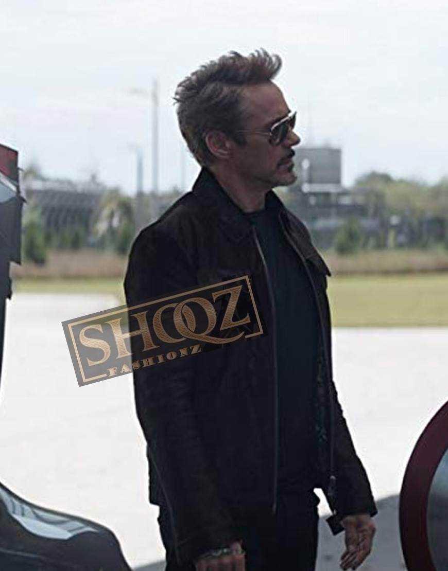Avengers Endgame Robert Downey Jr Sued  Jacket