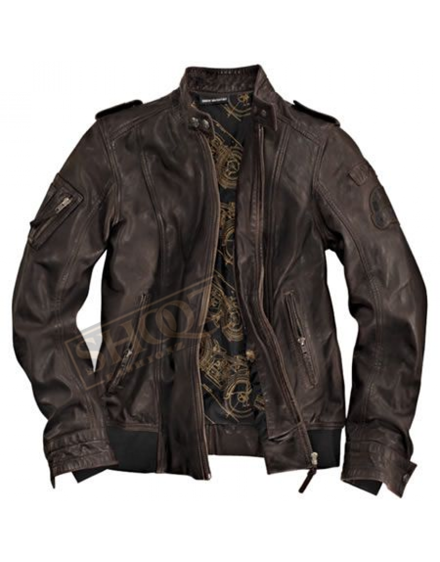 BMW Heritage Leather Jacket For Women