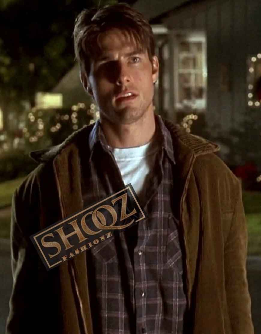 Jerry Maguire Tom Cruise Suede Leather Jacket
