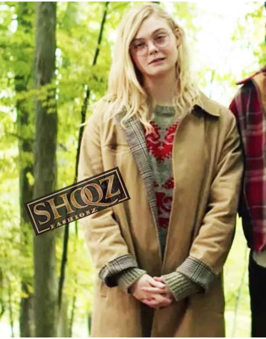 Elle Fanning All The Bright Places Violet Markey Coat