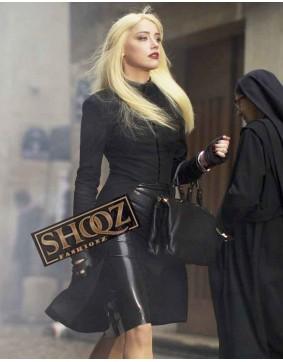 Amber Heard 3 Days To Kill Vivi Delay Coat