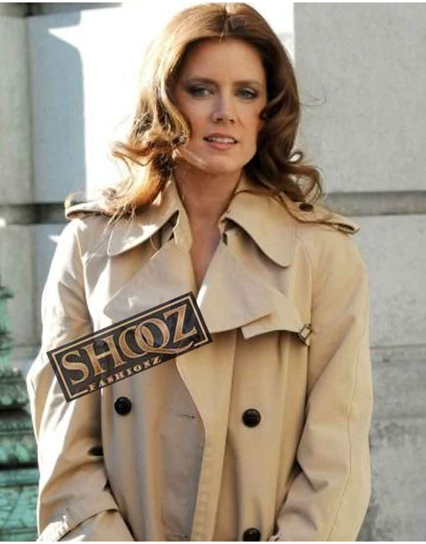 Amy Adams American Hustle Sydney Prosser Coat