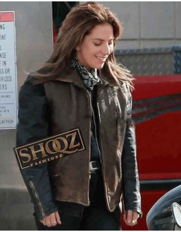 A Star Is Born Ally Brown Vest