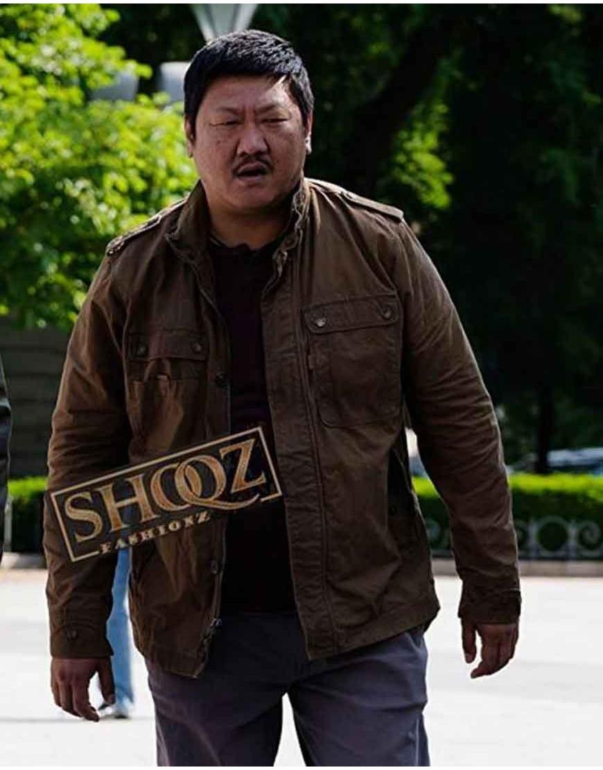Benedict Wong Gemini Man (Baron) Brown Jacket