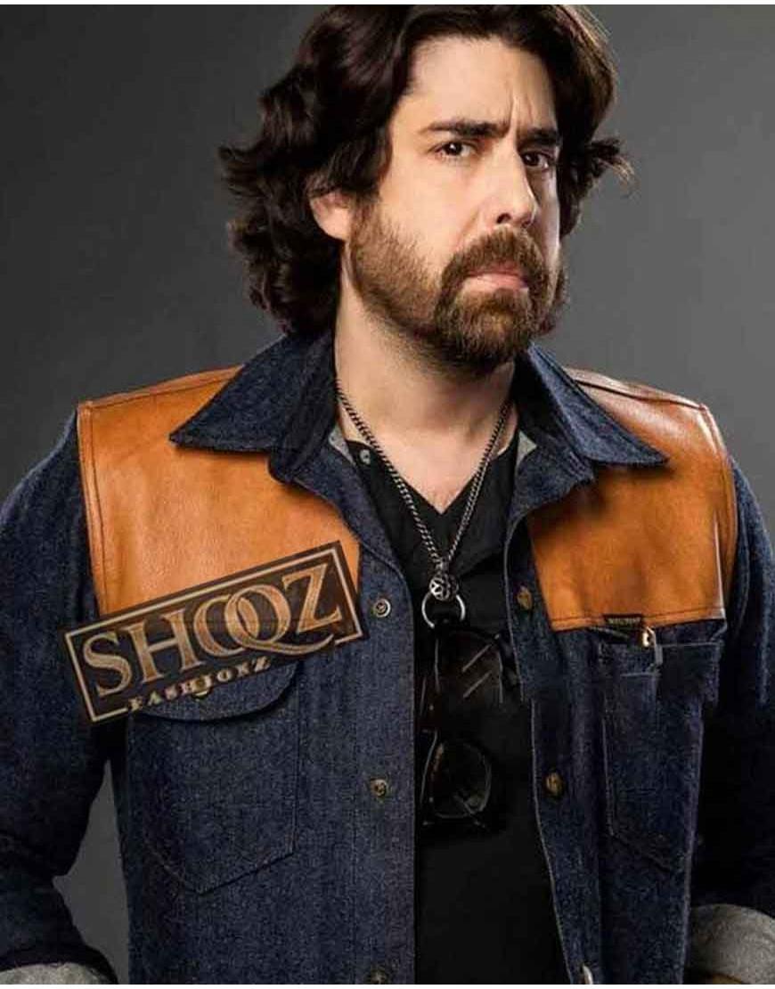 The Equalizer Adam Goldberg Blue Jacket