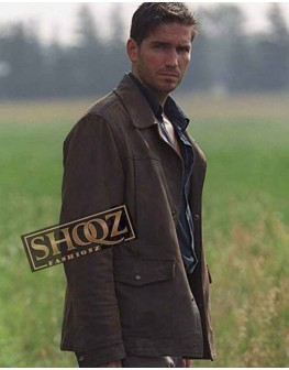 Highwaymen Jim Caviezel Leather Jacket